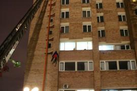 Пожарные учения Казань