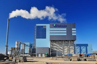 Waste treatment facilities, power plant Fortum, Klaipėda, Lithuania