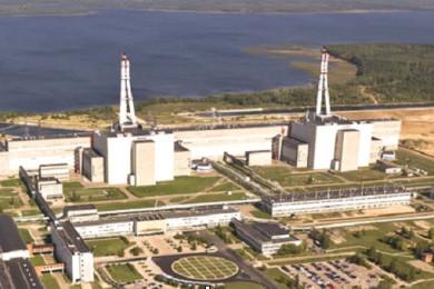 Atomic power plant, Nuclear waste treatment facilities, Visaginas, Lithuania