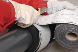 Nedegių vamzdžių su degia izoliacija priešgaisrinis sandarinimas Fogo