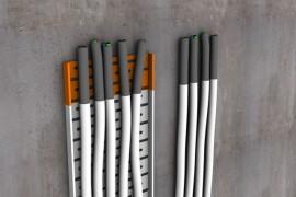 Priešgaisriniai abliatyviniai dažai elektros kabeliams Fogo