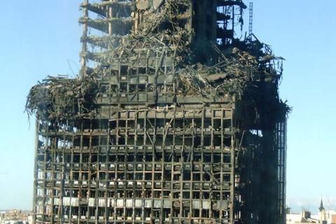 Bevielė gaisro aptikimo ir signalizavimo sistema statybose