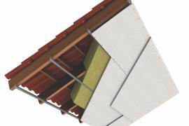 Medienos apsauga kalcio silikato plokštėmis fogo ugniaatsparinimas