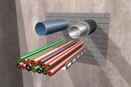 priešgaisrinių angų sandarinimo sistemos Fogo