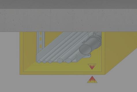 Inžinerinių komunikacijų ir įrenginių apsauga nuo ugnies