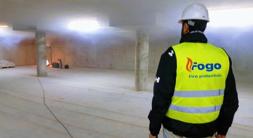 Dūmų šalinimo sistemų testas, kaip kompleksinis viso pastato GS sistemų bandymas